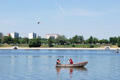 moskau Tsaritsyno-Park Stockfotos
