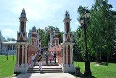 moskau Tsaritsyno-Park Lizenzfreie Stockbilder