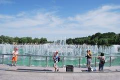 moskau Tsaritsyno-Park Stockbilder