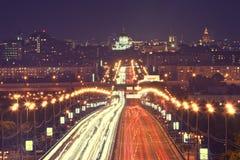 Moskau-Verkehr Stockfotografie