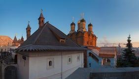Moskau von Jahr zu Jahr Stockbild