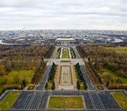 Moskau von oben Stockbilder