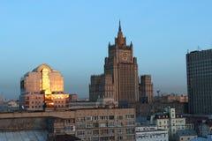 Moskau-Widerspruch. Stockfotografie