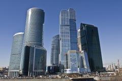 Moskau, Wolkenkratzer Stockbild