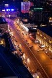 Moskaus Garten-Ring Stockfotos