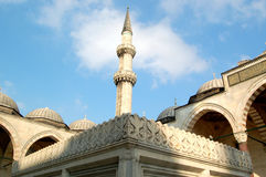 Moskee 1 van Soleymaniye Royalty-vrije Stock Foto's