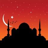 Moskee stock illustratie