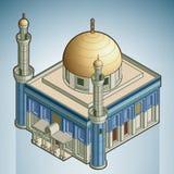 Moskee royalty-vrije illustratie