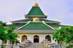 Moskee al -al-adzim in Melaka Royalty-vrije Stock Foto's