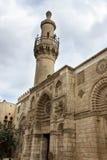 Moskee al-Aqmar, ook de genoemd Grijze moskee, is een moskee in Kaïro, Royalty-vrije Stock Fotografie