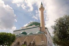 Moskee al-Jazzar royalty-vrije stock afbeeldingen