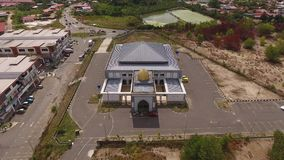 Moskee Al Taqwa stock videobeelden
