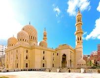 Moskee Alexandrië Stock Foto's