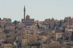 Moskee in Amman, Jordanië Stock Afbeeldingen