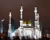 Moskee in Astana Stock Afbeeldingen
