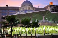 Moskee asy-Syakirin dichtbij KLCC Stock Fotografie