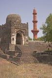 Moskee binnen Fort Daulatabad royalty-vrije stock foto's