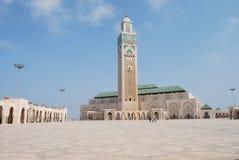 Moskee in Casablanca royalty-vrije stock foto's