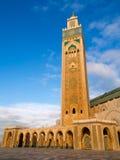 Moskee in Casablanka stock afbeeldingen