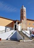 Moskee in Chefchaouen Medina royalty-vrije stock afbeeldingen