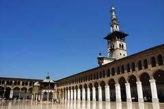 Moskee in Damascus royalty-vrije stock afbeeldingen