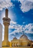 Moskee in Dienst Doubai royalty-vrije stock afbeelding