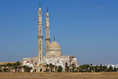 Moskee in Egypte royalty-vrije stock foto