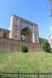 Moskee en minaret royalty-vrije stock foto's
