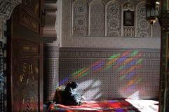 Moskee in Fez stock afbeelding