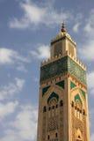 Moskee Hassan II in Casablanca Stock Afbeelding