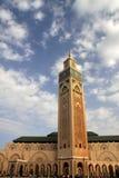 Moskee Hassan II in Casablanca royalty-vrije stock afbeelding