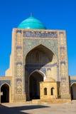Moskee in het Historische Centrum van Boukhara royalty-vrije stock foto's