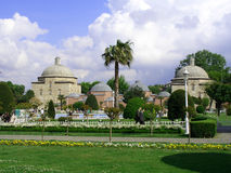 Moskee, Istambul, Turkije Stock Afbeelding