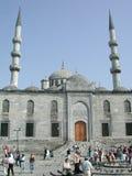Moskee in Istanboel, Turkije Stock Afbeelding