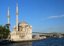 Moskee in Istanboel, Turkije Stock Fotografie