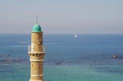 Moskee in Jaffa, Tel Aviv stock afbeelding