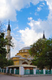 Moskee juma-Jami in Yevpatoria crimea royalty-vrije stock fotografie
