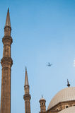 Moskee in Kaïro Royalty-vrije Stock Afbeeldingen