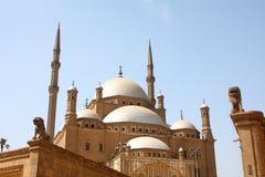 Moskee, Kaïro, Egypte Royalty-vrije Stock Foto