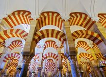 Moskee-kathedraal in Cordoba, Spanje Stock Afbeelding