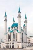 Moskee in Kazan het Kremlin stock afbeeldingen