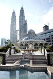 Moskee KLCC stock foto's