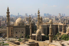 Moskee-Madrassa van Sultan Hassan kaïro Egipt Royalty-vrije Stock Foto