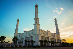 Moskee mujahidin Stock Afbeeldingen