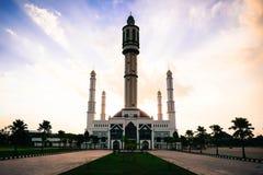 Moskee mujahidin Royalty-vrije Stock Afbeelding