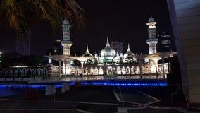 Moskee, nacht, licht, islam, aladin stock afbeeldingen