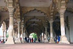 Moskee in noordelijk India Stock Afbeeldingen