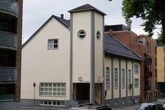 Moskee in Noorwegen Stock Afbeeldingen