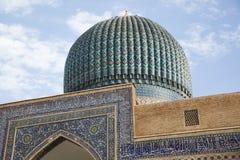 Moskee in Oezbekistan Royalty-vrije Stock Foto's