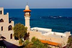 Moskee in Oude Jaffa stock fotografie